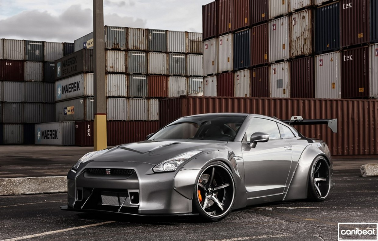 Liberty Walk Nissan Gt R Ultime