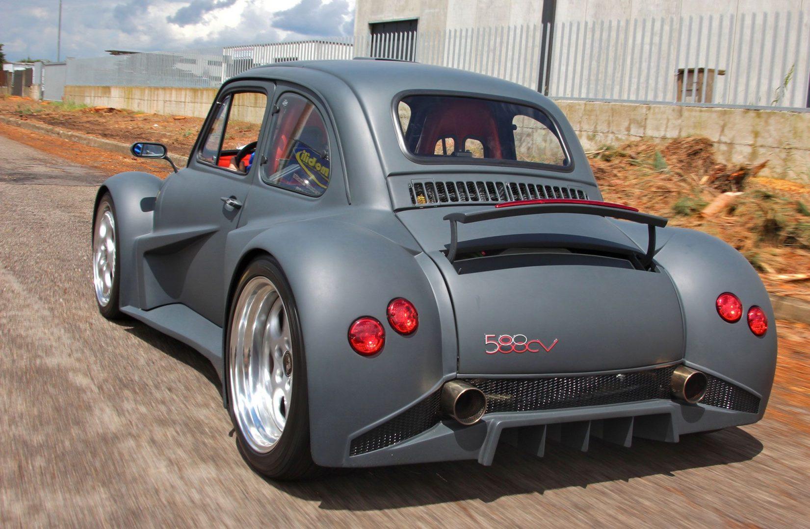 Fiat Rear View