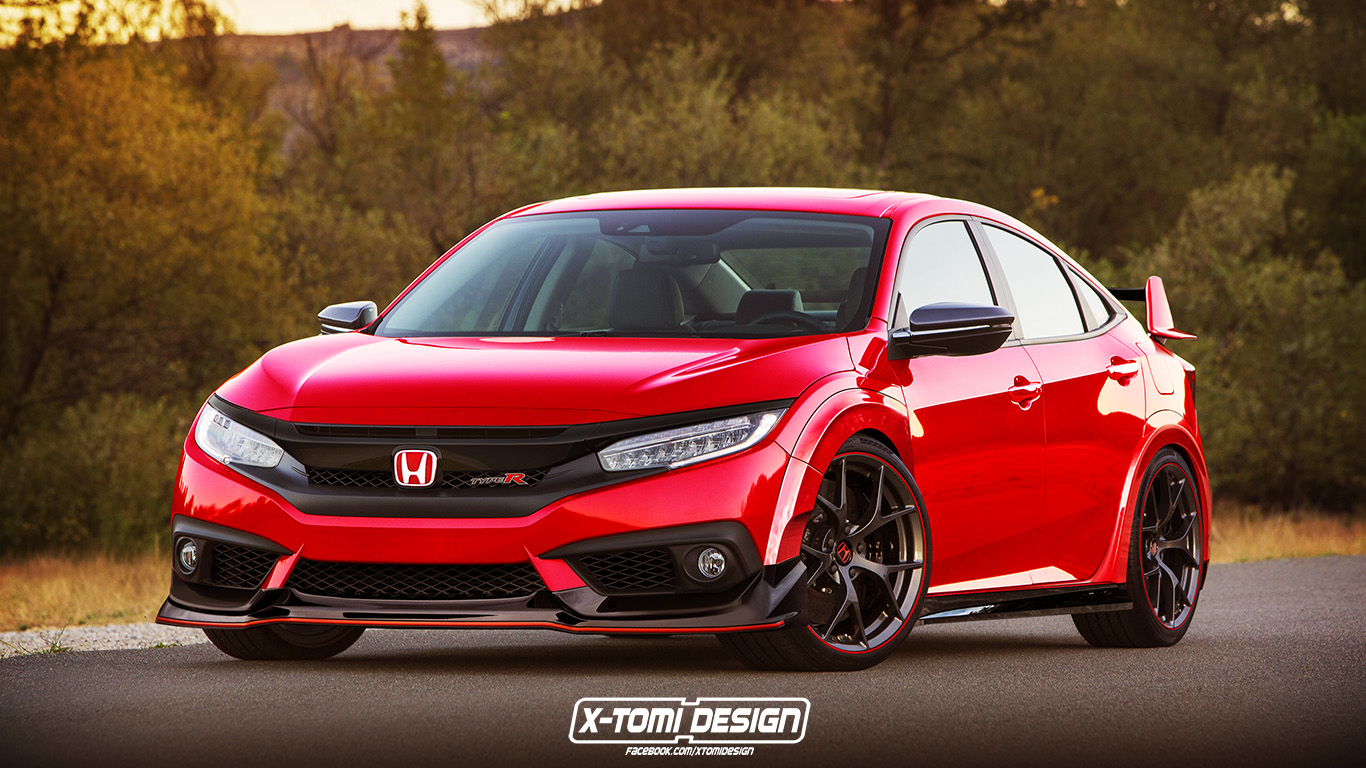 Honda-Civic-Type-R-Sedan