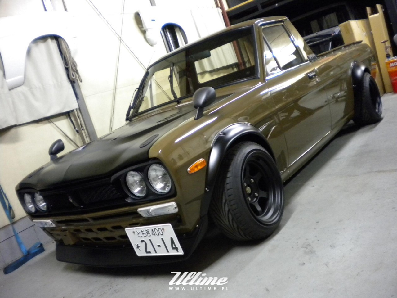 Hakotora Hakosuka Datsun 1200 Skyline Sunny Ultime