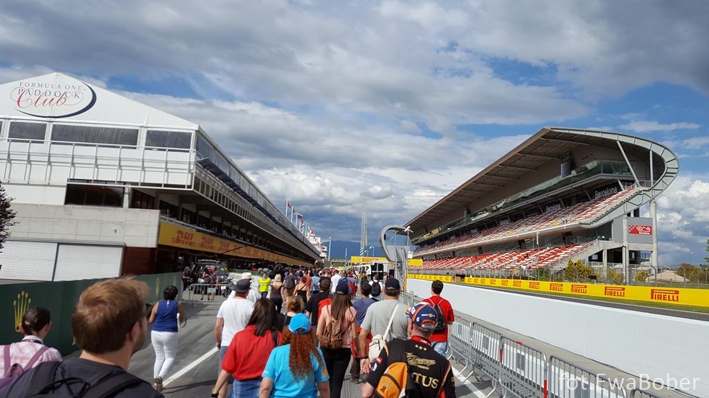 F1 Public Pit Lane Walk
