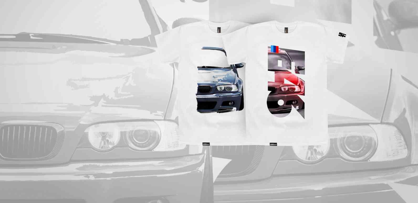 Nowe koszulki BMW e46 M3