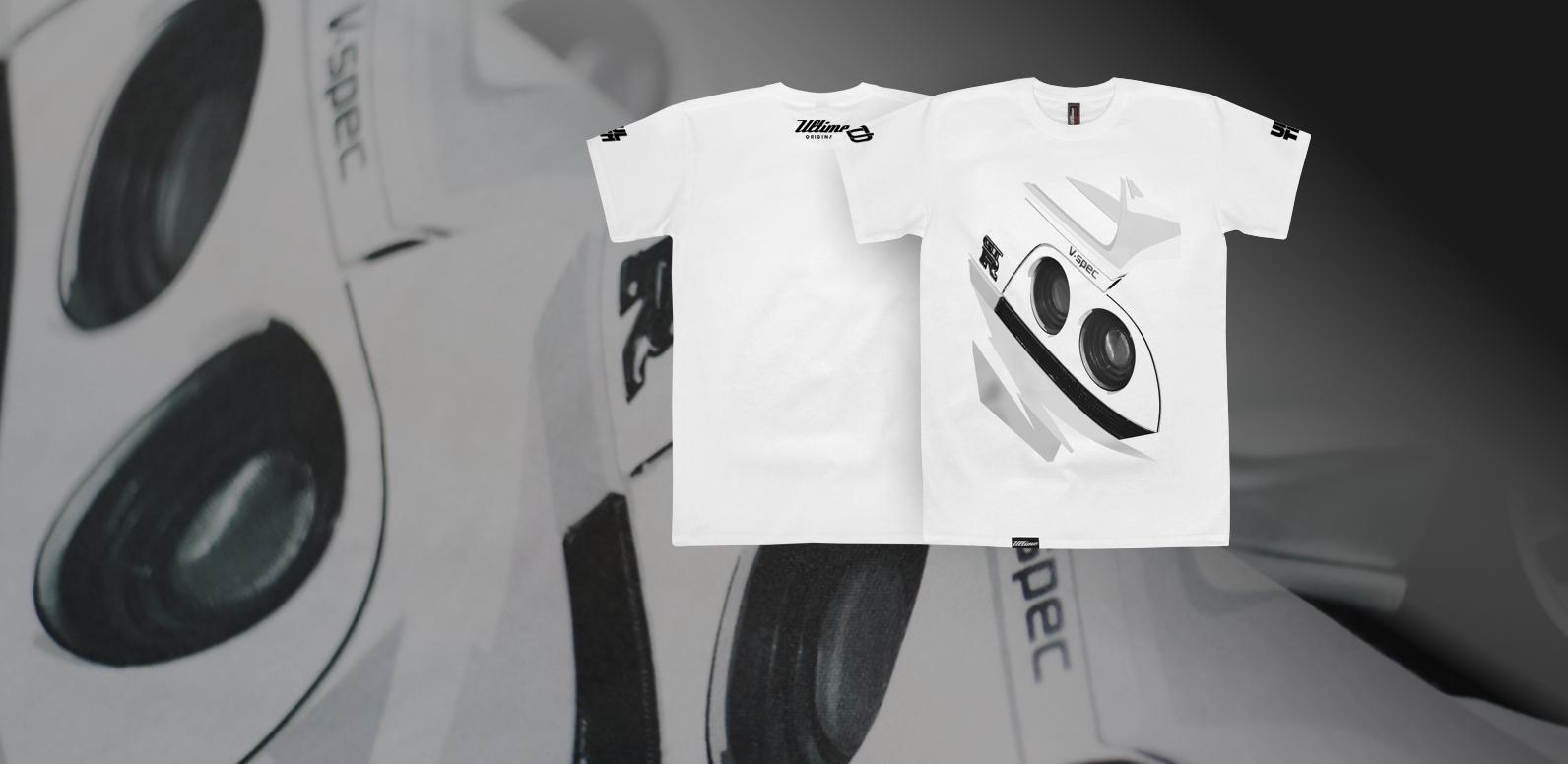 T-shirt Nissan GT-R R33 V-Spec