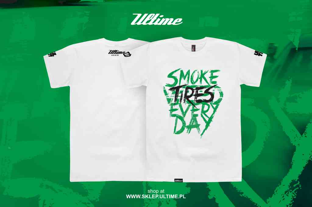 smoke tires every day