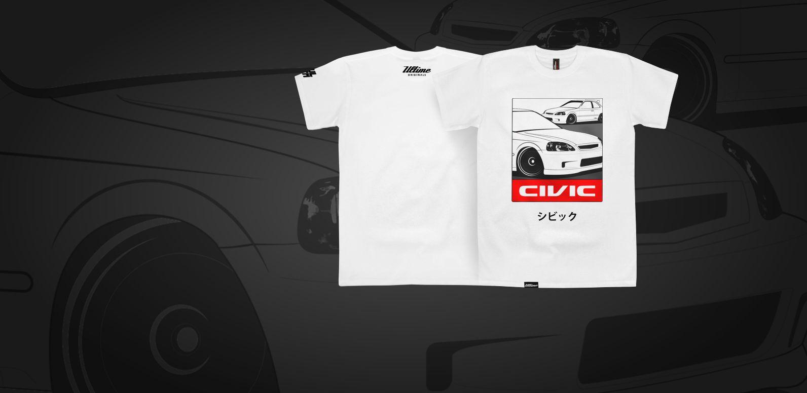 Koszulka Honda Civic VI