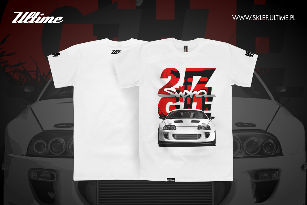 t-shirt koszulka Toyota Supra 2jz