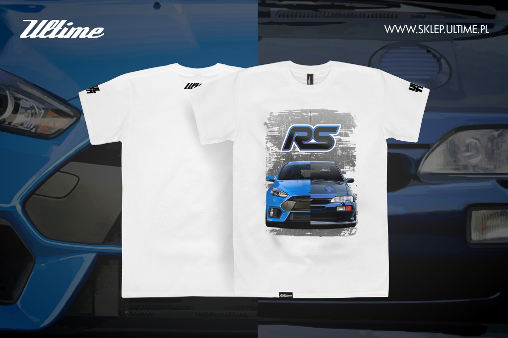 t-shirt ford focus escort rs