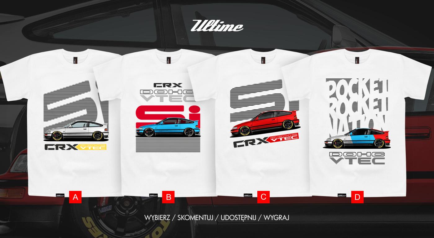 Koszulki CRX t-shirt