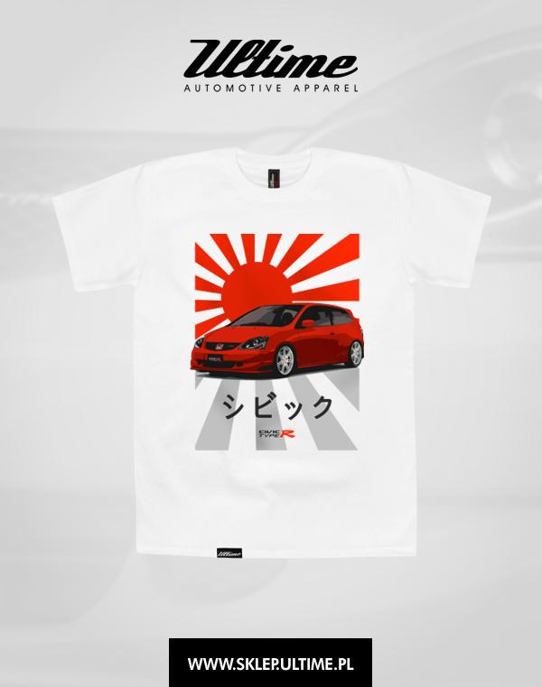 koszulka honda civic type r ep3 b