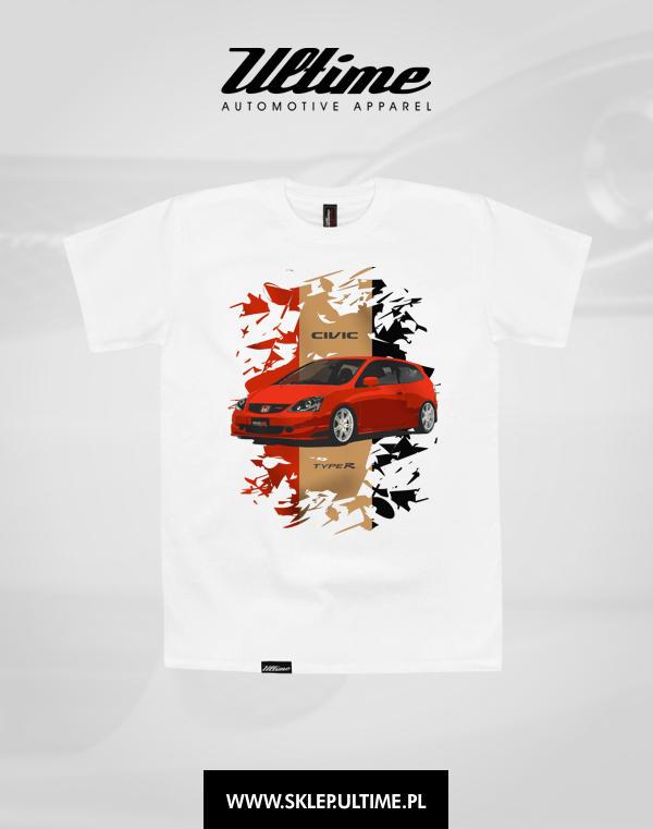 koszulka honda civic type r ep3 c