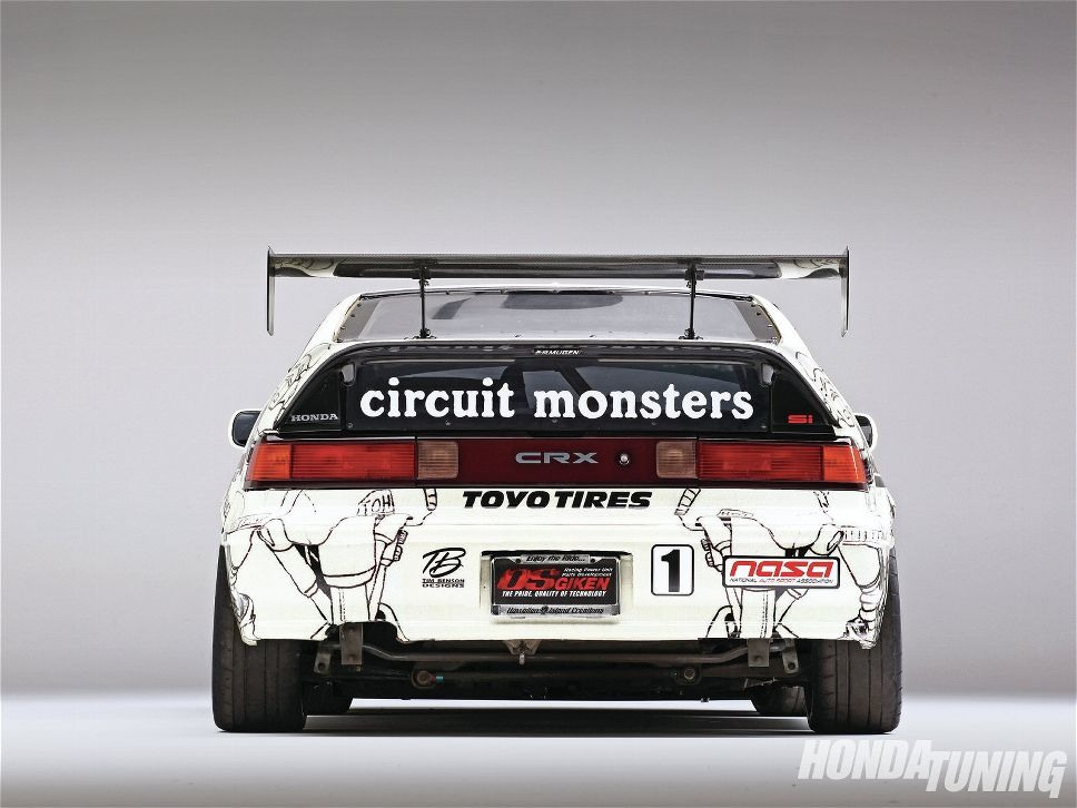 The Circuit Monsters CRX 01