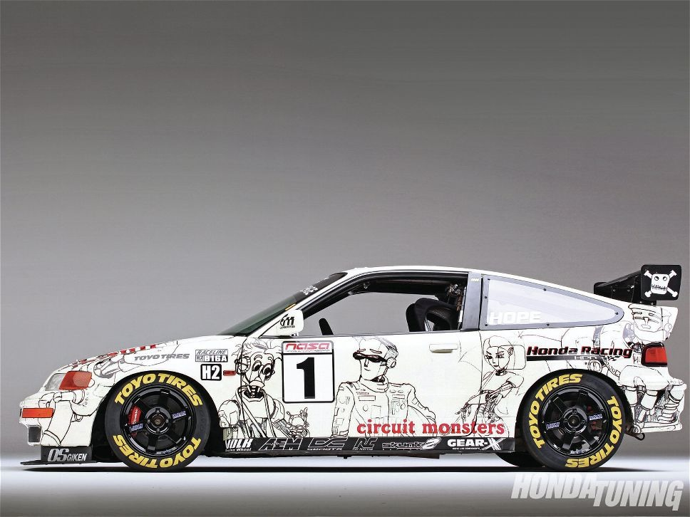 The Circuit Monsters CRX 02