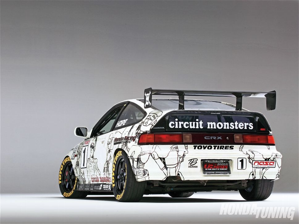The Circuit Monsters CRX 03