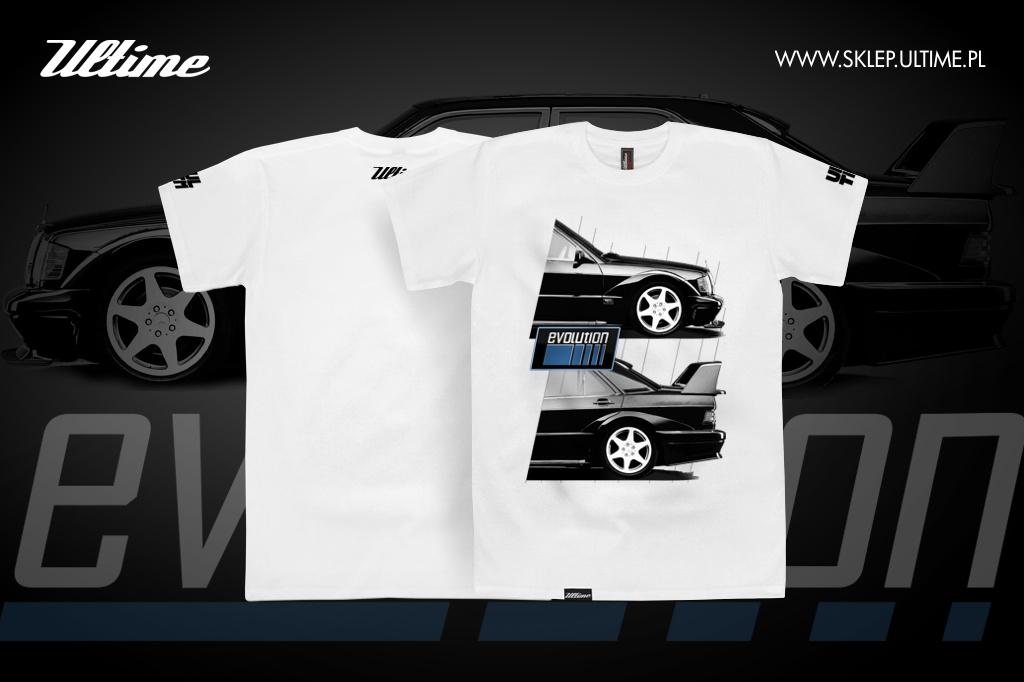 koszulka mercedes evolution 190 E 2.5 16v evo II