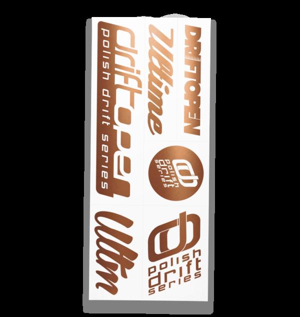 Ultime Drift Open Sticker Pack 01