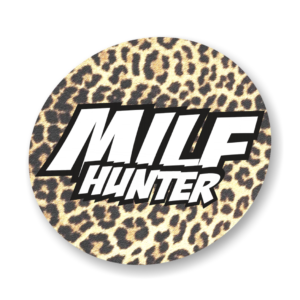 sticker m.i.l.f. hunter