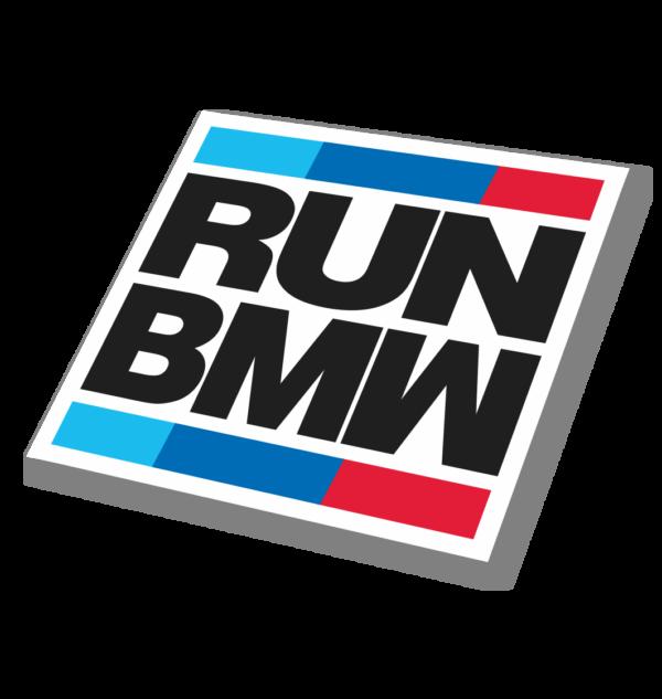 Sticker RUN BMW