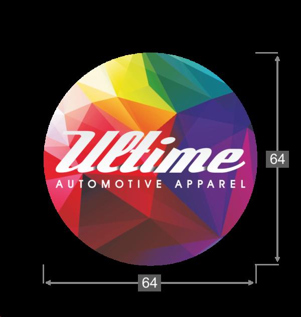 Naklejka Ultime Automotive Apparel 01 wymiart