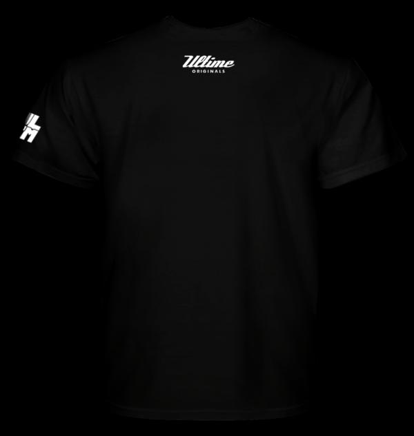 Czarna koszulka z napisem Drift