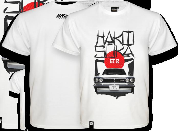 T-shirt Nissan Skyline GT-R