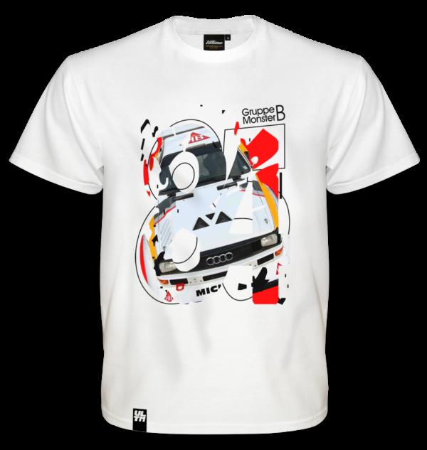Koszulka Audi Quattro Gruppe B Monster