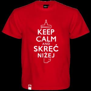 Koszulka Keep Calm & Skręć Niżej