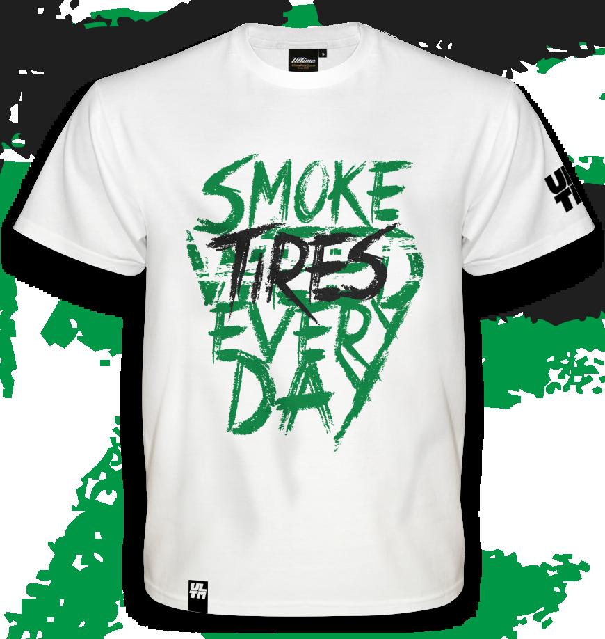 Koszulka Smoke Tires Every Day