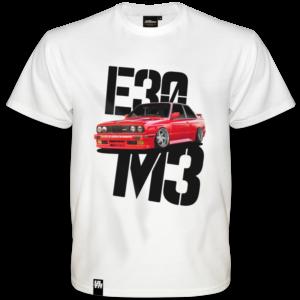Koszulka BMW E30 M3 RED